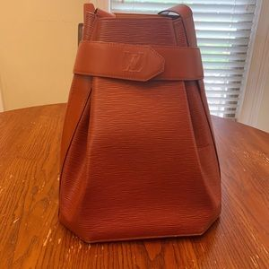 Louis Vuitton Epi Brown Sac D' Paule Shoulder Bag